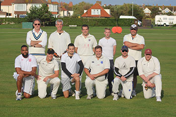 The Hastings Direct Summer of Sport winning cricket team
