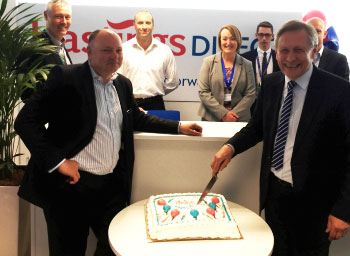 Hastings Direct officially thanks Leicester for its warm welcome