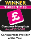 Consumer Moneyfacts Awards