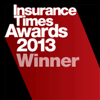 2013 Insurance Times Awards.