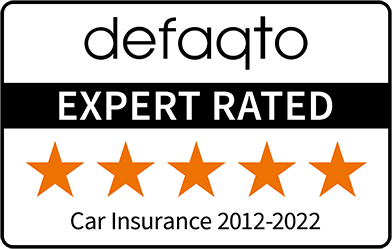 Defaqto 5 Star rated insurance cover