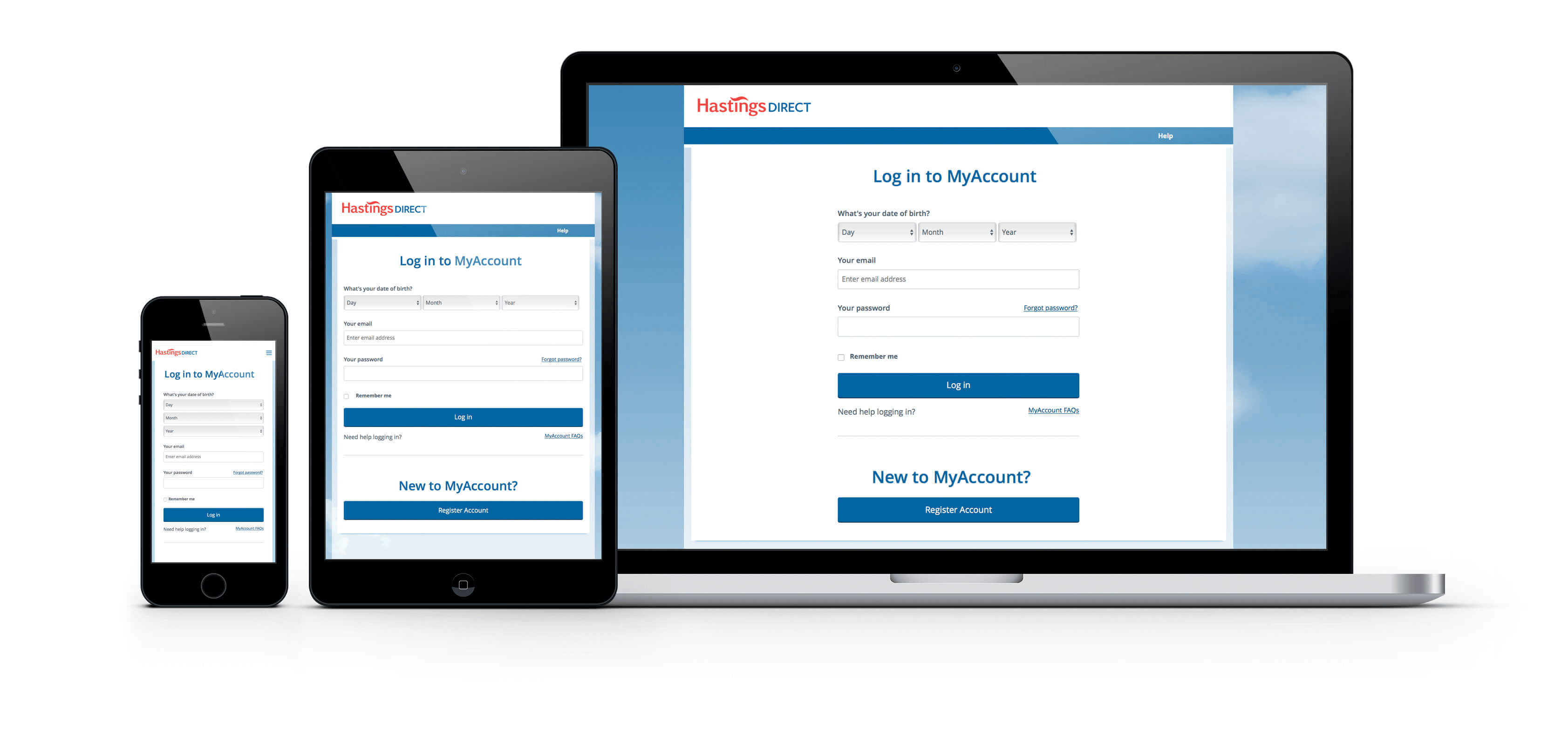 Hastings Direct Login to MyAccount.