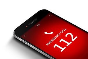european emergency number