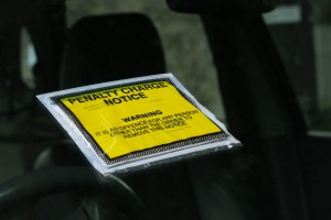 parking ticket.